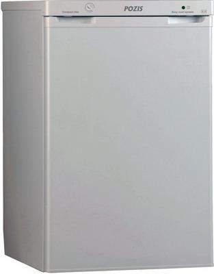 Однокамерный холодильник Позис RS-411 серебристый двухкамерный холодильник позис rk 101 серебристый металлопласт