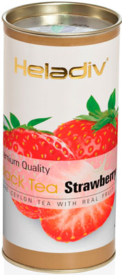 Чай черный HELADIV HD STRAWBERRY 100 gr Round P.T. женская рубашка strawberry witch lolita