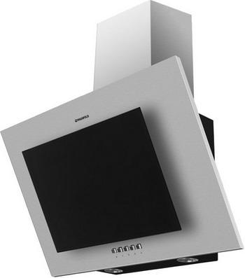 Вытяжка со стеклом MAUNFELD TOWER CS 50 Нержавейка/черное стекло