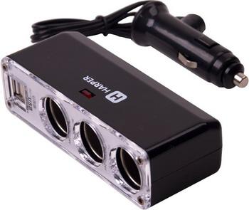 Автомобильное зарядное устройство Harper DP-096 автомобильное зарядное устройство olto cch 2103 harper o00000562