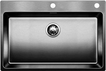 Кухонная мойка BLANCO ANDANO 700-IF-A нерж. сталь зеркальная полировка с клапаном-автоматом  мойка andano 700 if 518616 blanco