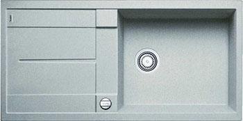 Кухонная мойка BLANCO METRA XL 6S SILGRANIT жемчужный с клапаном-автоматом кухонная мойка blanco metra xl 6s silgranit темная скала с клапаном автоматом