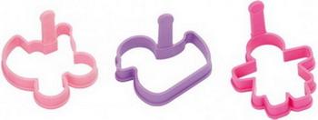 Универсальная формочка для девочек Tescoma DELICIA KIDS 630950 противень для выпечки tescoma delicia 46 x 30см 623014