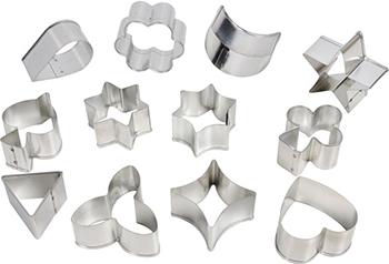 Формочки большие Tescoma DELICIA 12шт 631322 этикетки для стаканов tescoma myglass 12шт океан 308820