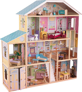 Кукольный дом для Барби KidKraft Великолепный Особняк 65252_KU kidkraft кукольный стульчик для кормления куклы kidkraft