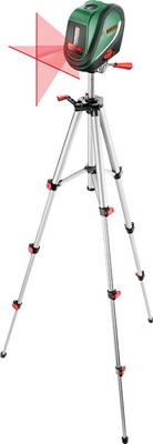 Линейный лазерный нивелир Bosch UniversalLevel 2 SET штатив 0603663801 bosch pcl 10 set штатив