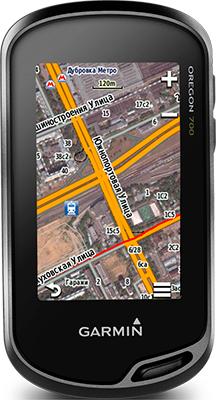Навигатор Garmin Oregon 700 t с картами России ТОПО6 (черно-зеленый) garmin oregon 750t