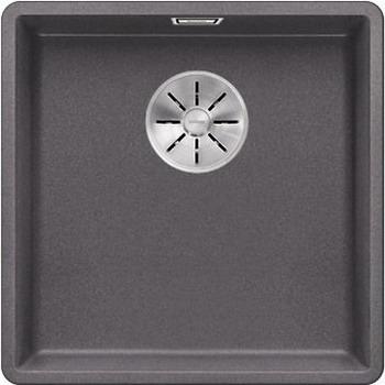 Кухонная мойка BLANCO SUBLINE 400-F темная скала с отв.арм. InFino 523495 мойка subline 400 f jasmine 519800 blanco