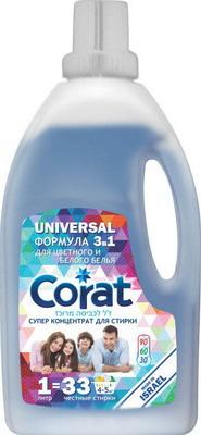Гель для стирки универсальный Corat Universal 1л гель для стирки пемос универсальный 2 2 л