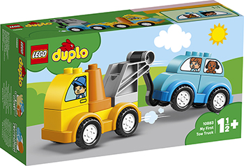 Конструктор Lego Мой первый эвакуатор 10883 DUPLO My First my first eng adventure starter tb