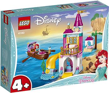 Конструктор Lego Морской замок Ариэль 41160 Disney Princess конструктор lego disney princess волшебный замок золушки 585 элементов 41154