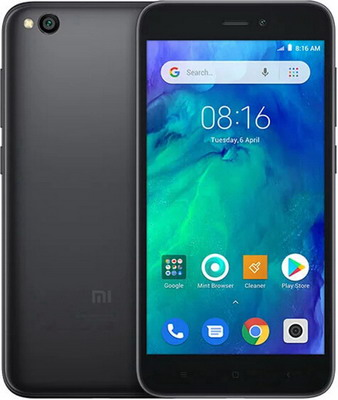 Смартфон Xiaomi Redmi Go 8GB черный redmi go 1 8gb blue