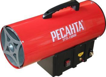 Тепловая пушка Ресанта ТГП-15000 тепловая пушка газовая ресанта тгп 30000 33квт красный