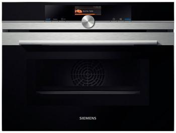 Встраиваемый электрический духовой шкаф Siemens CM 656 NB S1 встраиваемый электрический духовой шкаф smeg sf 4120 mcn