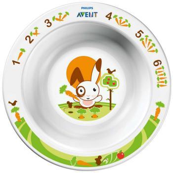 Тарелка глубокая Philips Avent SCF 706/00 набор для кормления детей philips avent scf 251 00