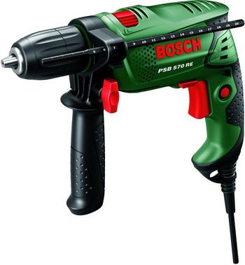 Дрель Bosch PSB 570 RE 0603127024