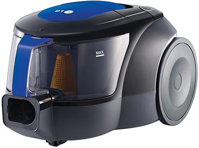 Пылесос LG VK 69662 N синий пылесос с контейнером для пыли lg vc53001kntc
