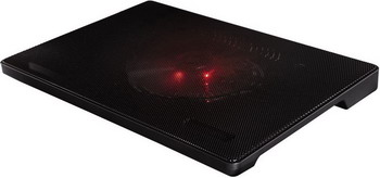 Подставка для ноутбуков Hama Slim черная (00053067)