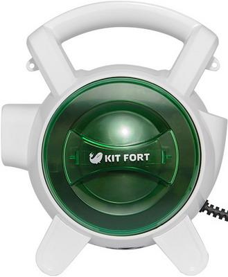 Пылесос Kitfort KT-526-2 зеленый ручной пылесос handstick kitfort kt 526 1 400вт синий белый