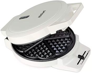 Вафельница Kitfort КТ-1624 санки санки снегокаты rt торнадо 1 до 50 кг пластик белый серый