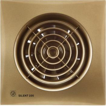 Вытяжной вентилятор Soler amp Palau SILENT-200 CZ (золото) 03-0103-170