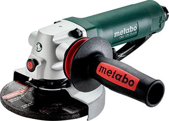 Угловая шлифовальная пневматическая машина Metabo DW 125 Quick пневматическая 601557000 пневматическая установка для откачки масла lubeworks aoe 2065