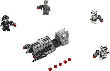 Конструктор Lego Боевой набор имперского патруля 75207 набор hazet 751 6 2c