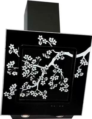 Вытяжка со стеклом ELIKOR Оникс ART 60П-1000-Е4Д КВ I Э-1000-60-367 черный/сакура вытяжка elikor оникс art 60 белый