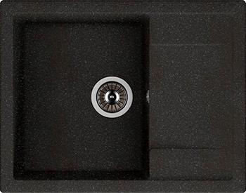 Кухонная мойка DrGans ТЕХНО 650 цвет черный