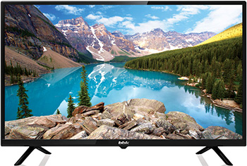 LED телевизор BBK 28 LEM-1050/T2C чёрный цена и фото