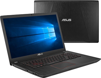 Ноутбук ASUS FX 753 VD-GC 448 T (90 NB0DM3-M 07580) ноутбук asus fx 753 vd gc 128 90 nb0dm3 m 09520