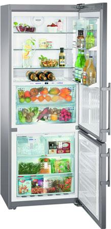 Двухкамерный холодильник Liebherr CBNPes 5167 двухкамерный холодильник liebherr cnp 4758