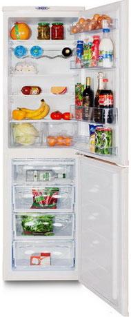 Двухкамерный холодильник DON R 297 S холодильник don r 295 слоновая кость