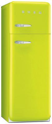 Двухкамерный холодильник Smeg FAB 30 RVE1 однокамерный холодильник smeg fab 28 rve1