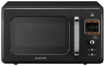 Микроволновая печь - СВЧ Daewoo Electronics KOR-6LBRB чёрного цвета  микроволновая печь daewoo electronics kor 6l65