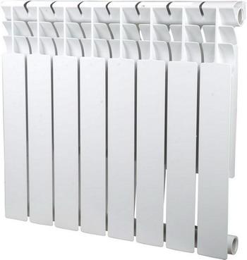 Водяной радиатор отопления SIRA Omega 80 H.500-08 алюминиевый радиатор sira omega as 500 6 секций