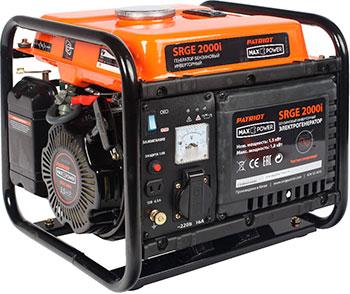 Электрический генератор и электростанция Patriot 474101610 MaxPower SRGE 2000 i генератор бензиновый инверторный patriot maxpower srge 4000i 474101620