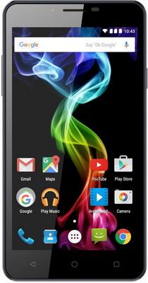 Мобильный телефон Archos 55 b Platinum Черный archos oxygen 50