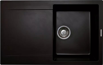 Кухонная мойка LAVA L.7 (LAVA чёрный металлик) цена