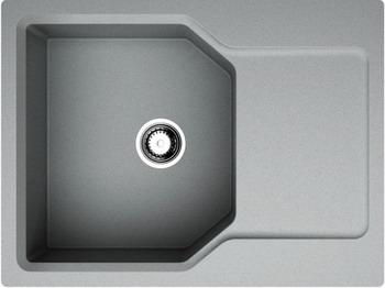 Кухонная мойка OMOIKIRI Yonaka 65-GR Artgranit/leningrad grey (4993346) смеситель для кухни omoikiri shinagawa gr 4994160 leningrad grey