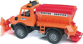 Снегоуборочная машина Bruder Mercedes-Benz 02-572