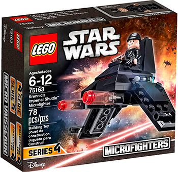 Конструктор Lego STAR WARS ''Имперский шаттл'' 75163-L lno 049 267pcs star wars mini diamond building blocks