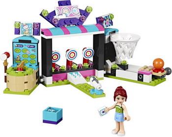 Конструктор Lego FRIENDS Парк развлечений: игровые автоматы 41127 конструктор lego friends 41127 парк развлечений игровые автоматы
