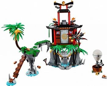 Конструктор Lego Ninjago Остров тигриных вдов 70604-L конструктор lego ninjago 70633 кай мастер кружитцу