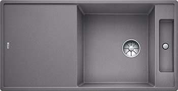 Кухонная мойка BLANCO AXIA III XL 6 S-F InFino Silgranit алюметаллик ( доска стекло) 523528 blanco daras s silgranit алюметаллик