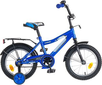 Велосипед Novatrack 14'' COSMIC  синий 143 COSMIC.BL5 детский велосипед для девочек novatrack cosmic х50269