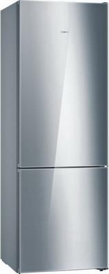 Двухкамерный холодильник Bosch KGN 49 SM 2 AR холодильник bosch kgn39nw13r двухкамерный белый
