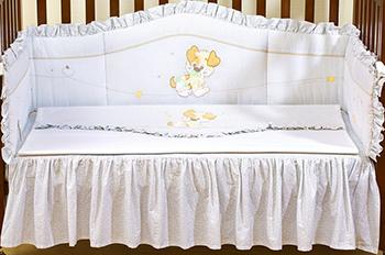 Комплект в кроватку Giovanni ''PUPPY'' 1308 120*60 4 пр