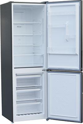 Двухкамерный холодильник Shivaki BMR-1851 NFX двухкамерный холодильник shivaki bmr 1881 nfx