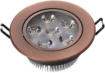 Светильник встроенный DeMarkt Круз 637013206 6*1W LED 220 V vs s62 led hide away warning light 2 heads tir 6 1w led headlight 100